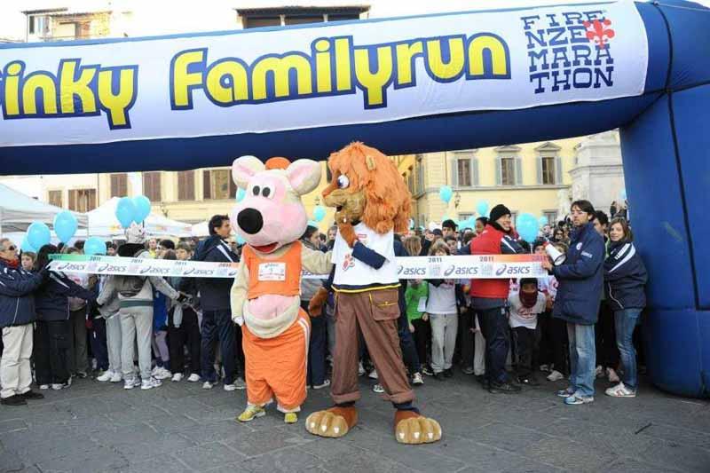 Firenze Marathon 2018 Ginky family run iscrizioni