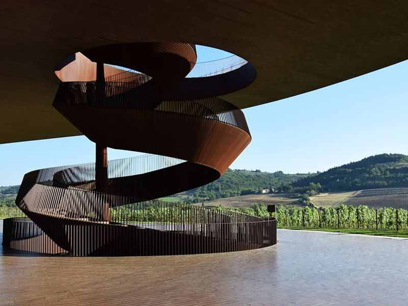 Degustare vini Toscana - Cantina Antinori