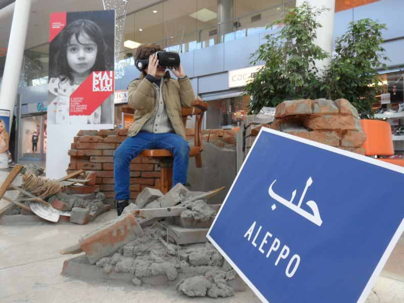 Welcome to Aleppo video 3D Ponte a Greve