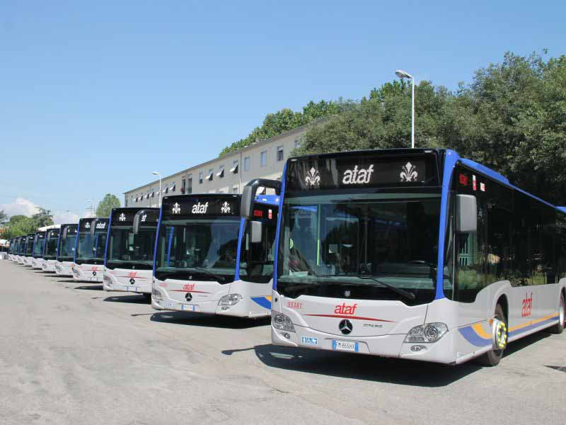 Linee bus Ataf cambiamenti percorso linea 2 tramvia