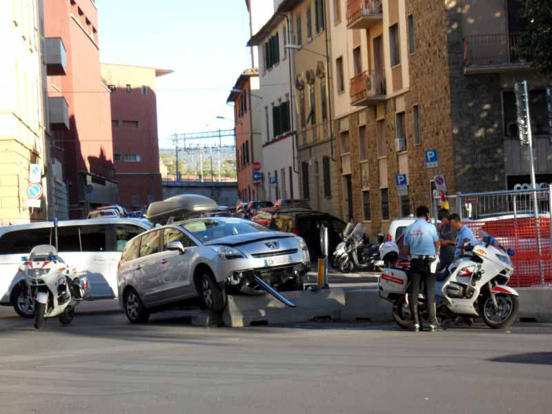 Incidente viale Belfiore Firenze