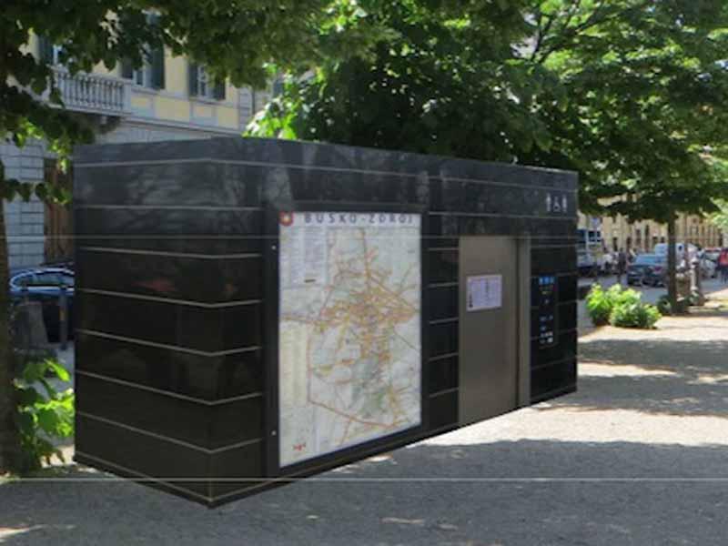 Nuovi bagni pubblici (hi-tech) nel centro di Firenze - ilReporter.it
