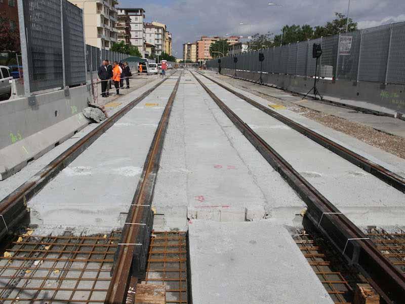 I cantieri del tram