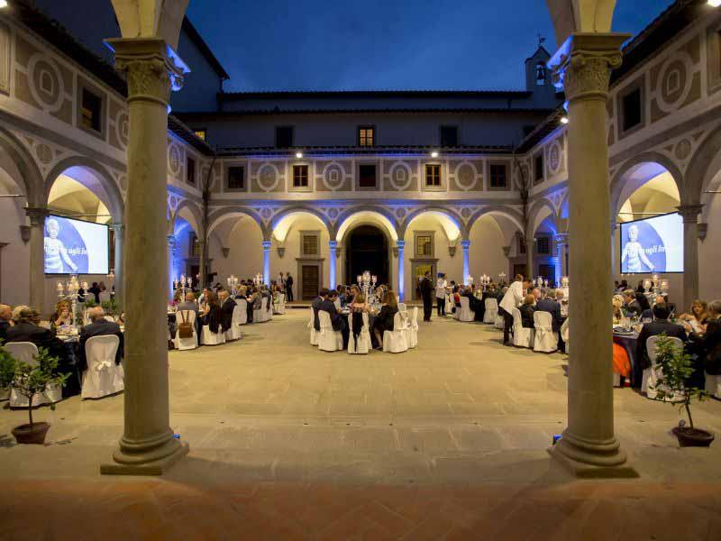 Cena Istituto Innocenti Firenze - Una sera agli Innocenti 2018