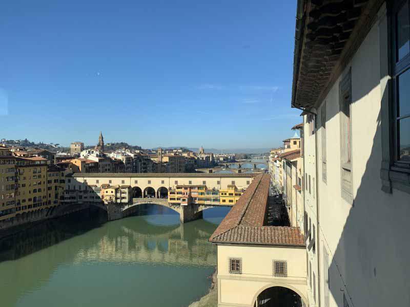 Corridoio Vasariano riapertura Firenze Uffizi