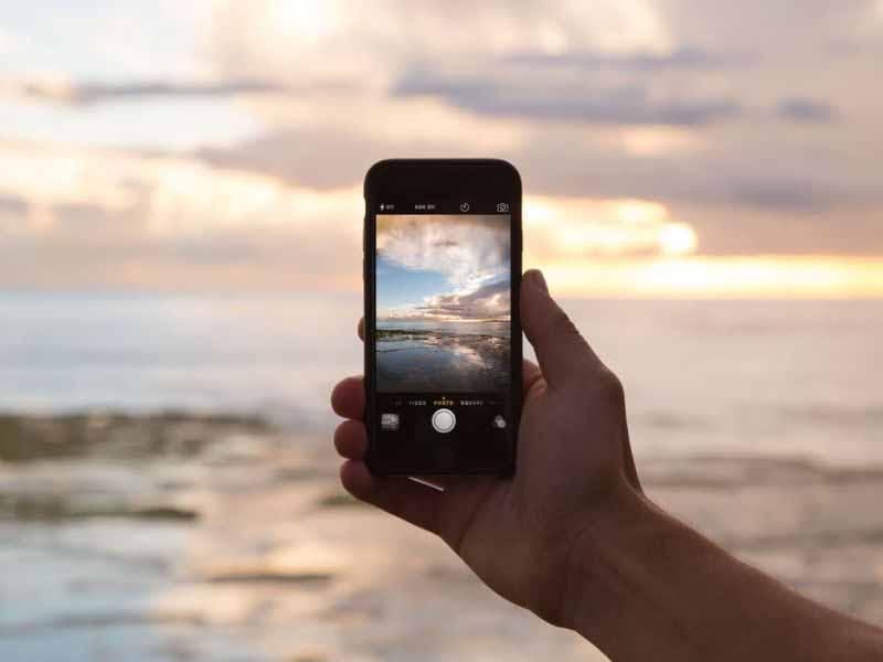 Fare foto smartphone