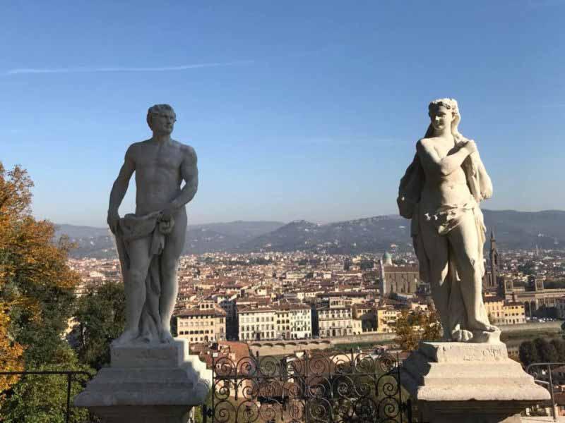 Giardino Bardini Firenze gratis