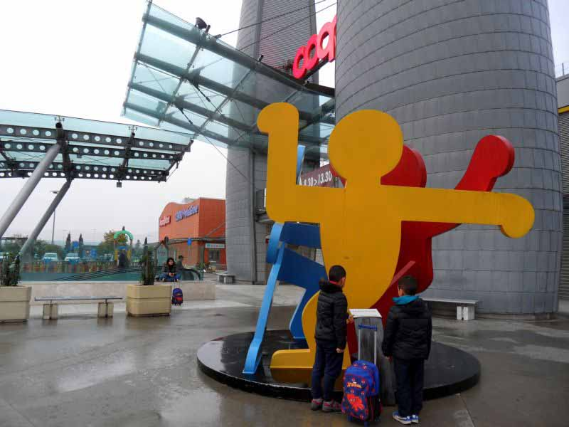 Keith Haring Firenze Ponte a Greve I girotondi