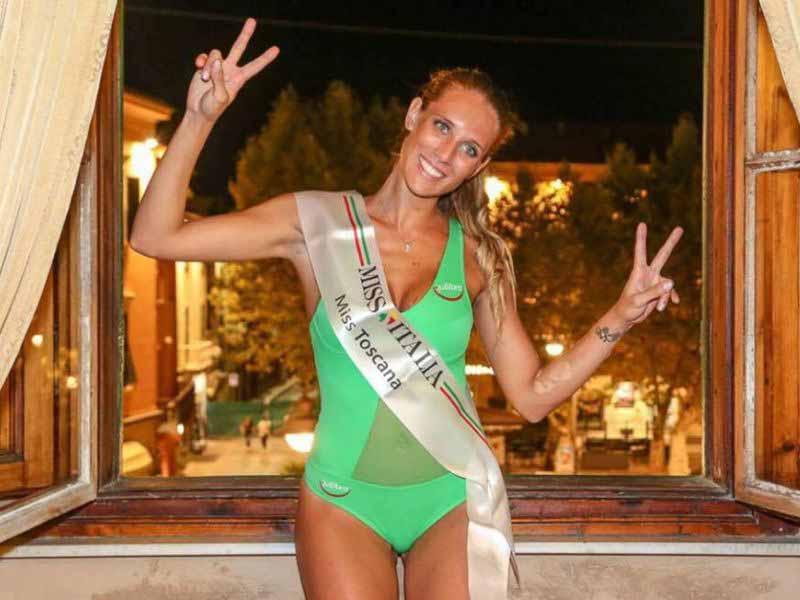 Miss Toscana 2017 Lavinia Mannucci