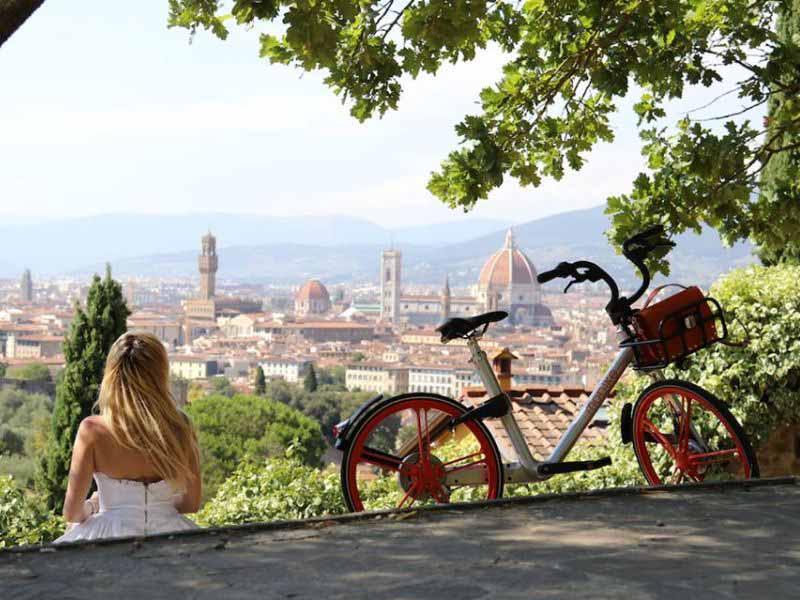 Mobike a Bagno a Ripoli: 6 mesi di sperimentazione - ilReporter.it