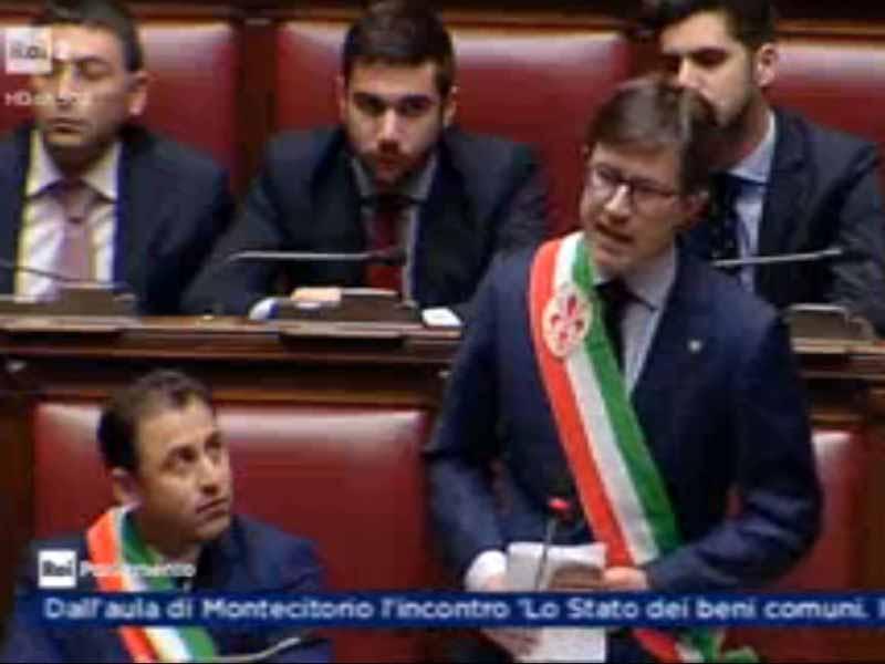 Nardella Montecitorio Beni comuni discorso