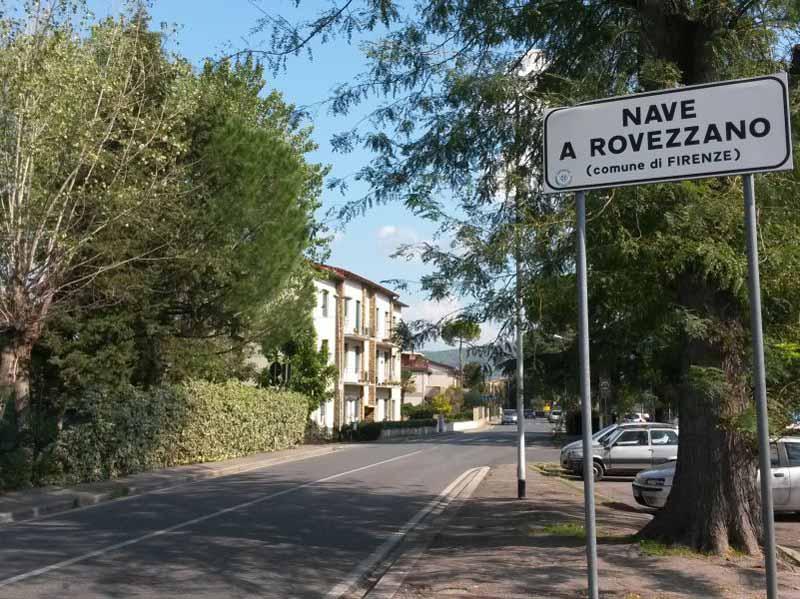 Nave a Rovezzano, frazioni Firenze sud