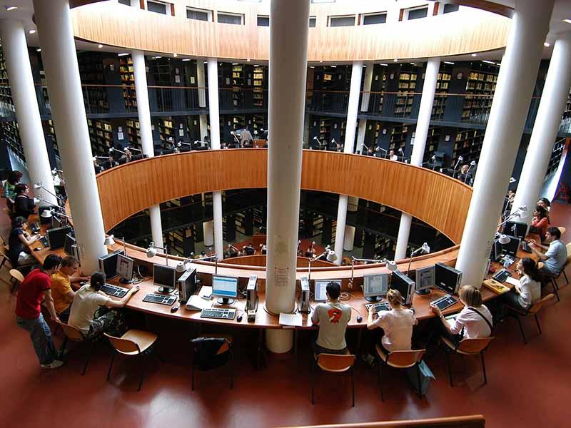 Dove studiare Firenze - Biblioteca Novoli aula studio