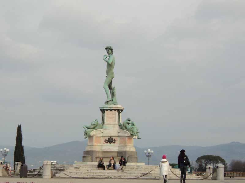 Piazzale Michelangelo pedonalizzato