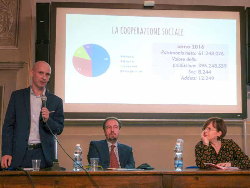 Cooperative sociali Legacoop Toscana Marco Paolicchi