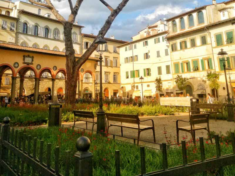 piazza ciompi Firenze mercatini