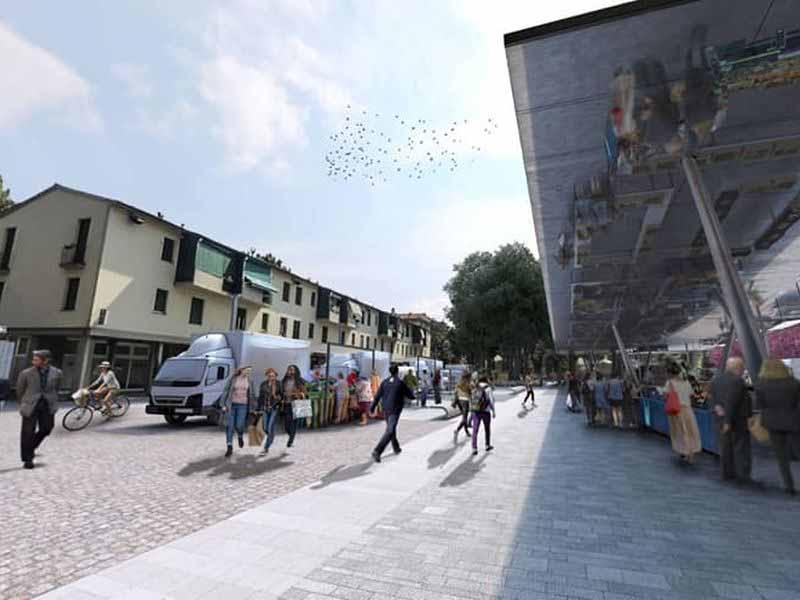 piazza Isolotto progetto lavori