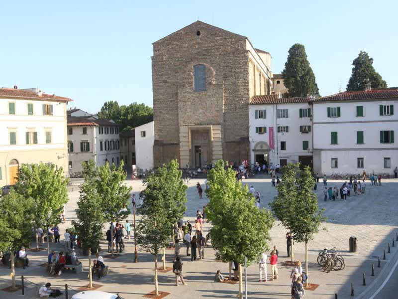 piazza del Carmine Firenze fine lavori e progetti