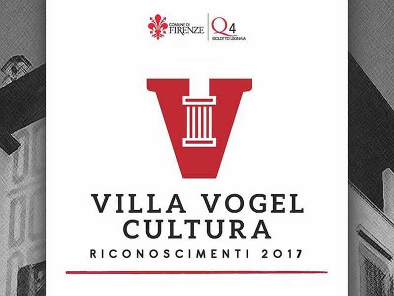 Villa Vogel cultura 2017 riconoscimenti