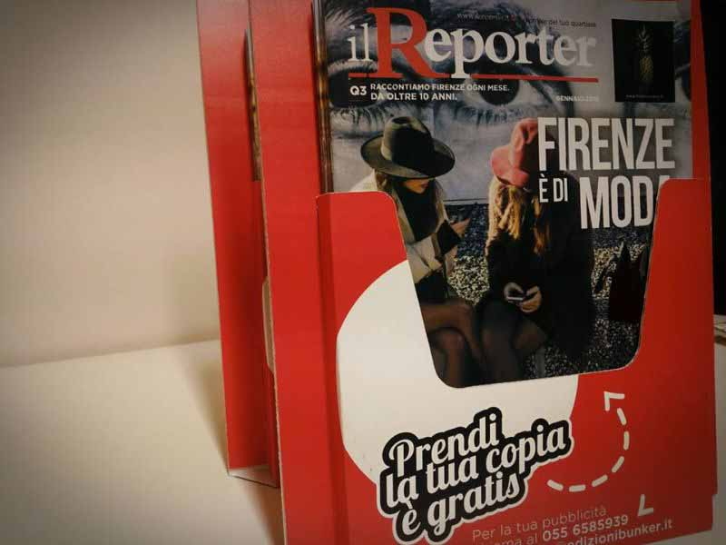 Reporter Firenze punti distribuzione
