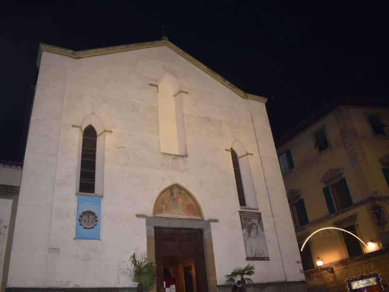 Chiesa Sant'Ambrogio nuova illuminazione