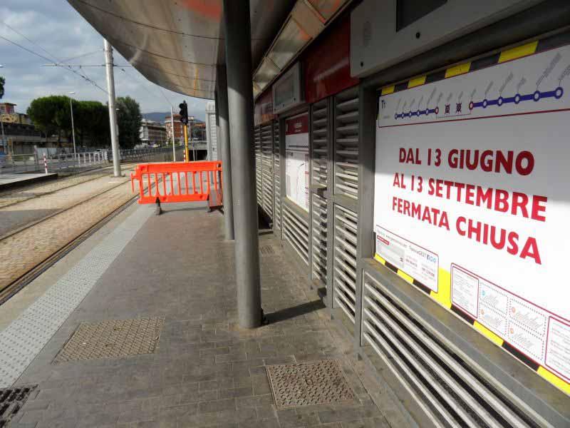 Lavori Sottopasso Foggini Talenti tramvia