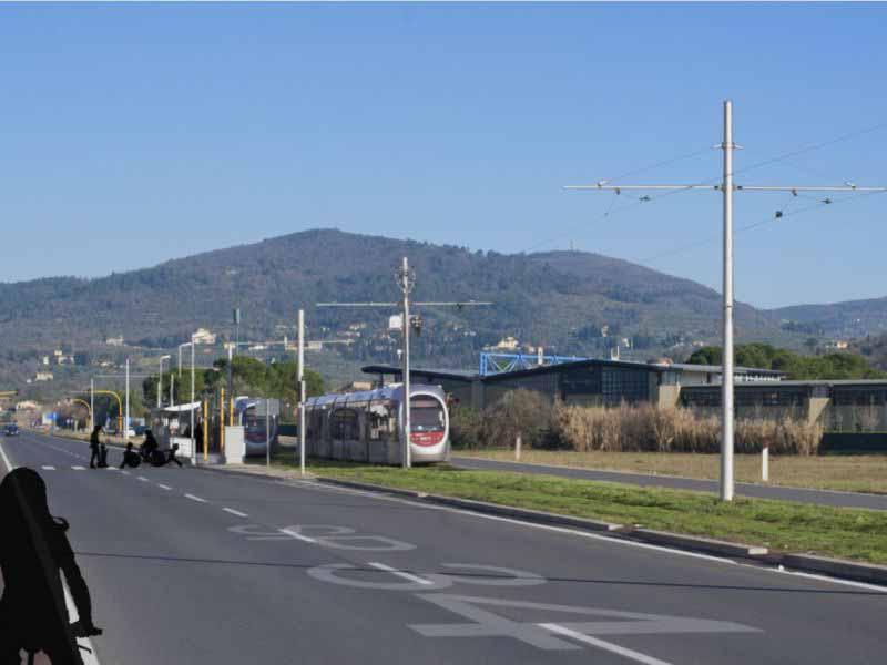 Tramvia Firenze sud Bagno a Ripoli progetto linea 3.2