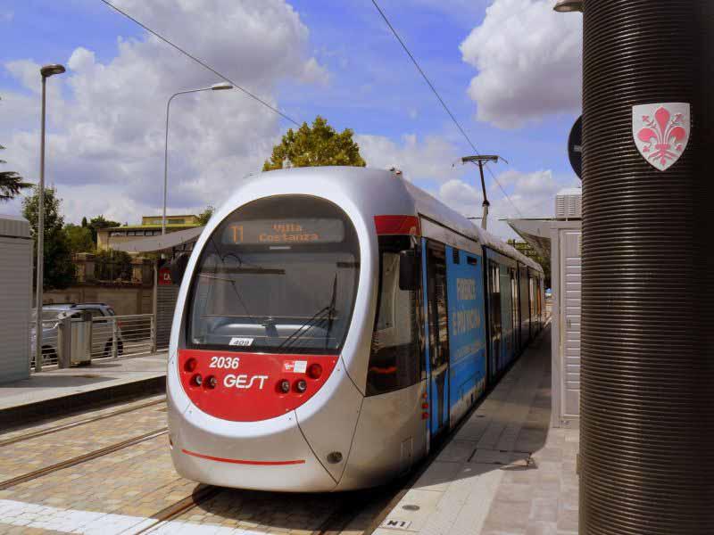 Tramvia Firenze sud Bagno a Ripoli progetto