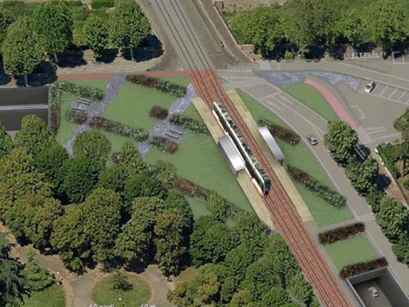Oriana Fallaci piazzale giardino
