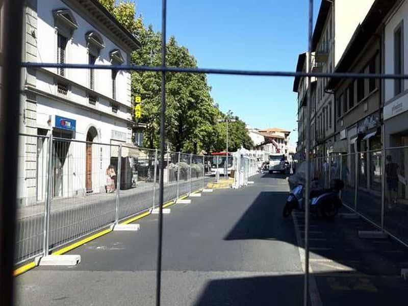 Tramvia lavori via Corridoni piazza Dalmazia