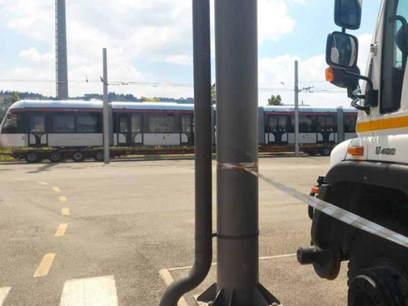 Tramvia nuovo tram Firenze