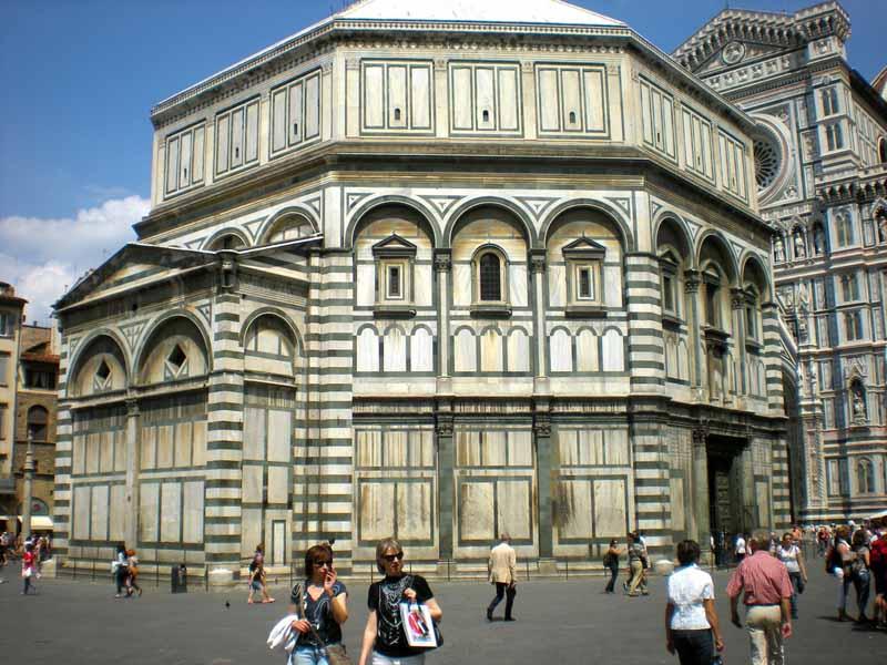 Pubblicità Duomo Palazzo Vecchio Firenze