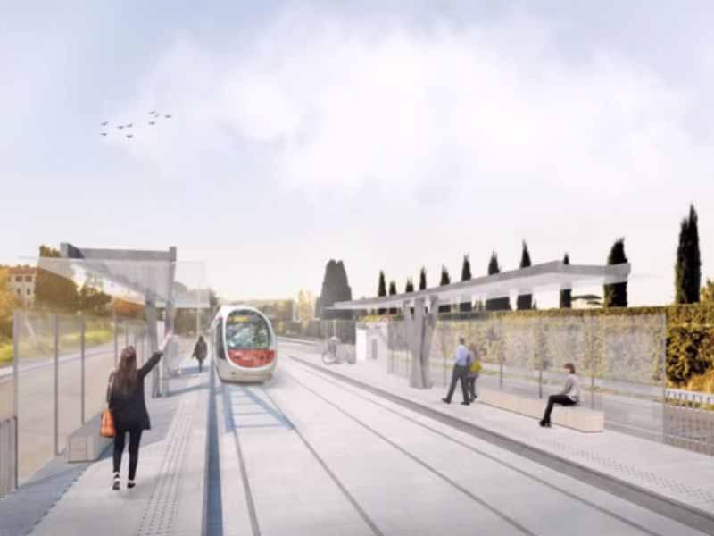 Linea 3.2 tramvia Firenze incontro viale Matteotti