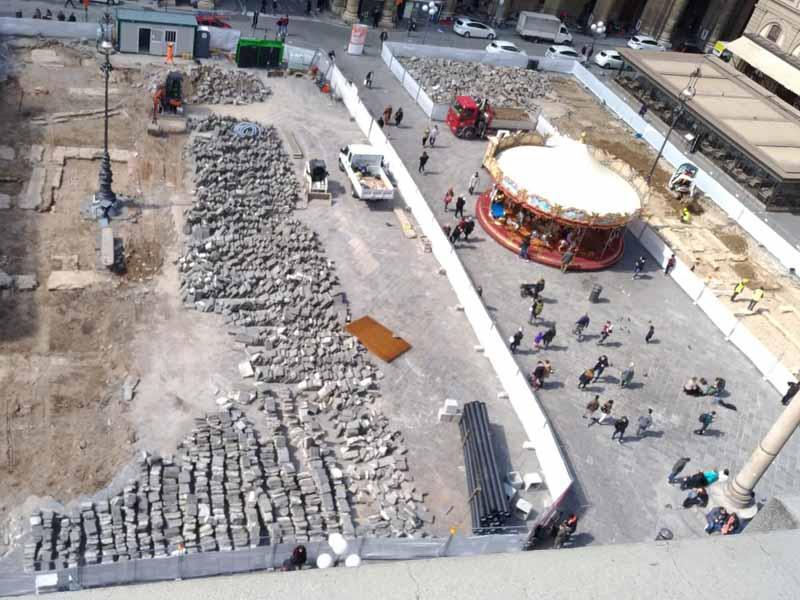 Scavi piazza della Repubblica, visite guidate
