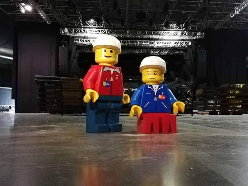 Lego Firenze festival - Bricks in Florence 2018 Obihall