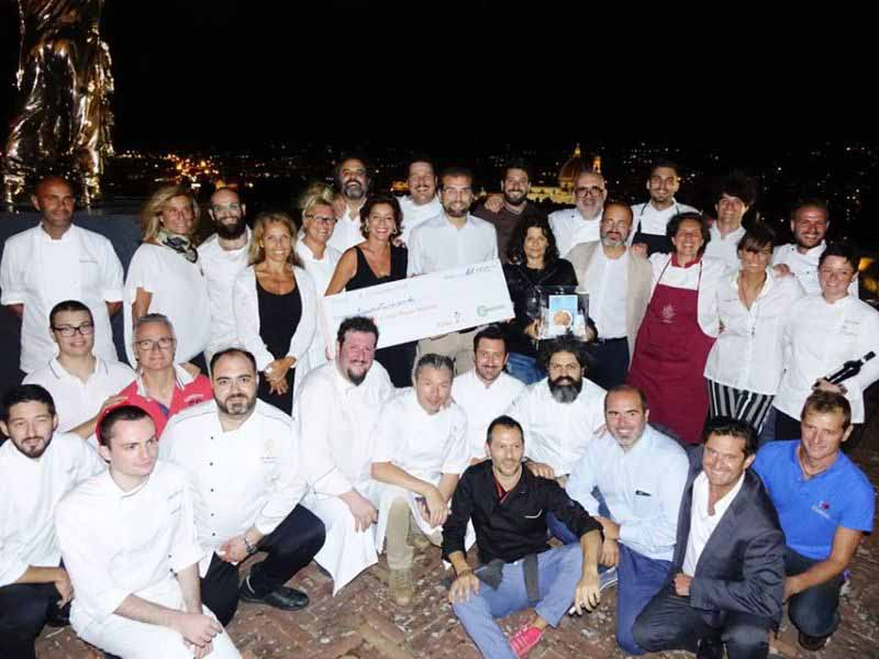 Italian Chef Charity Night 2018 menù, programma, chef ospiti