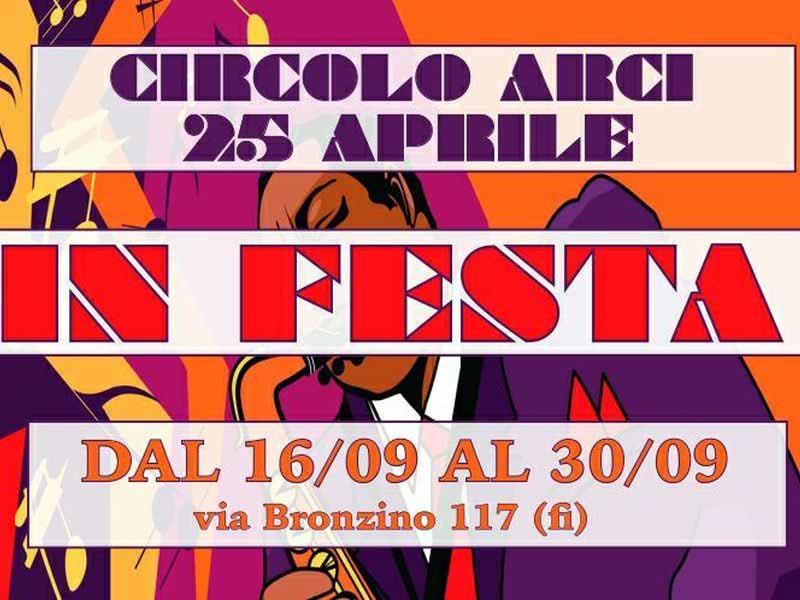 Casa del popolo 25 aprile in Festa via Bronzino