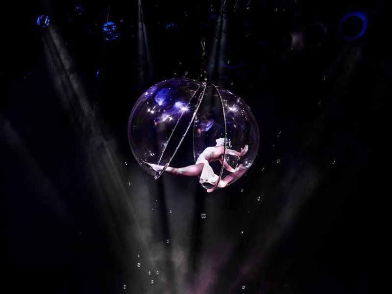 Cirque Reckless a Firenze, circo al Visarno