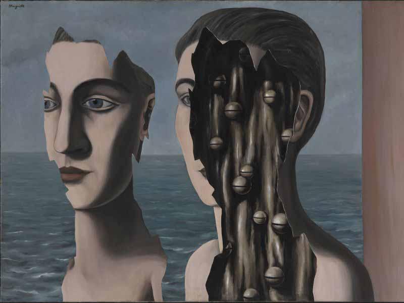 Magritte Duchamp mostra Pisa Palazzo Blu Surrealismo