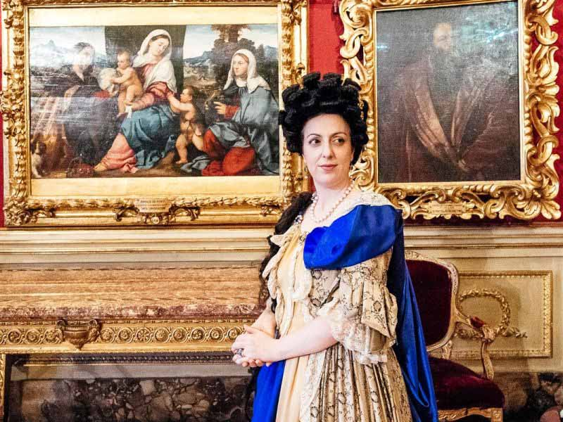 Elettrice Palatina Musei Firenze gratis