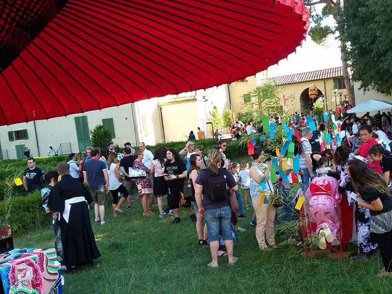 Tanabata 2018: festa giapponese dei desideri Firenze Villa Vogel