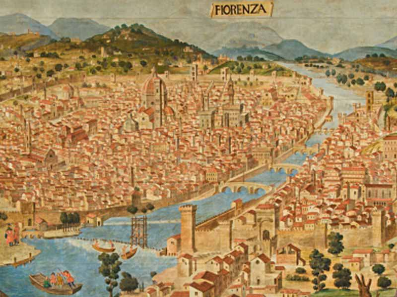 Il medioevo raccontato in 6 conferenze for Firenze medievale