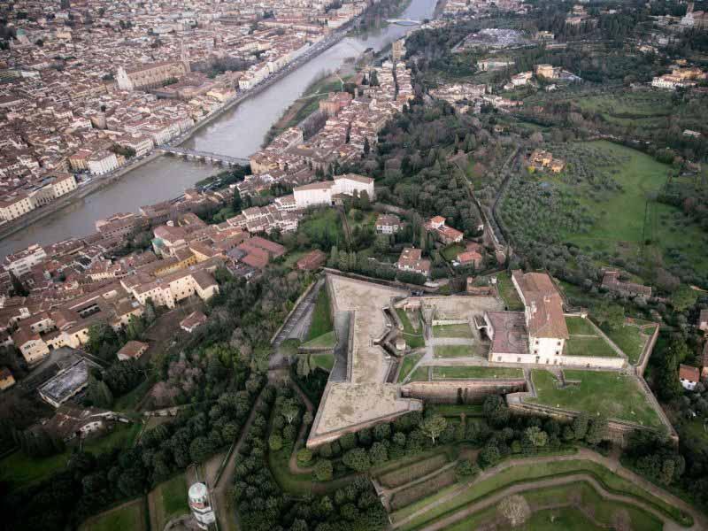 Autobus Forte Belvedere Villa Bardini Firenze