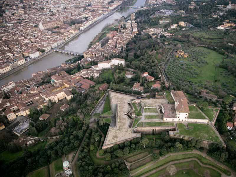 Forte Belvedere Firenze mostra 2018 Eliseo Mattiacci