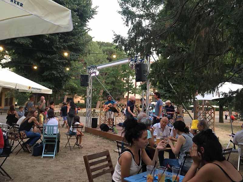 Concerti orticultura Firenze Tuttaposto a Ferragosto 2018