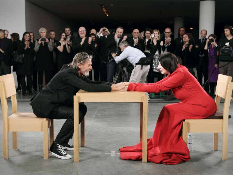 Marina Abramovic Firenze mostra performance