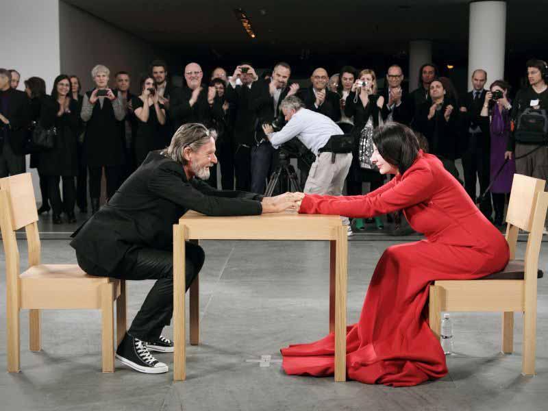 Marina Abramovic Firenze mostra performance