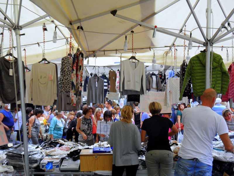 Rionalissima 2018 Firenze mercato Campo di Marte autunno fiera