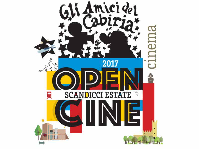 Cinema all'aperto Scandicci Firenze - cinema estivo - Open Cine 2017