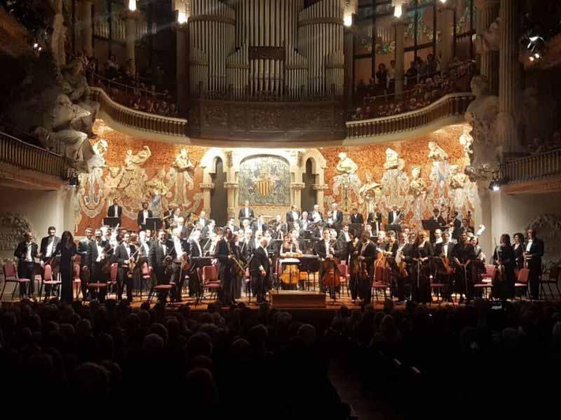 Orchestra Maggio Musicale concerto Barcellona